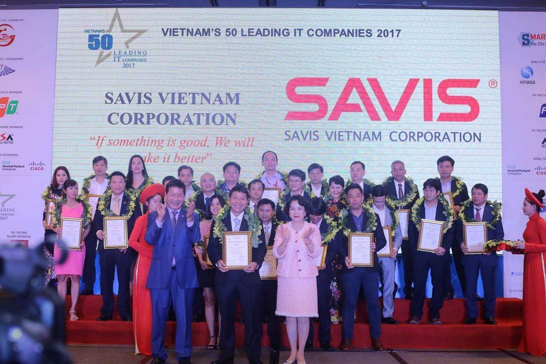 SAVIS năm thứ 2 liên tiếp lọt vào Top 50 Doanh nghiệp CNTT hàng đầu Việt Nam
