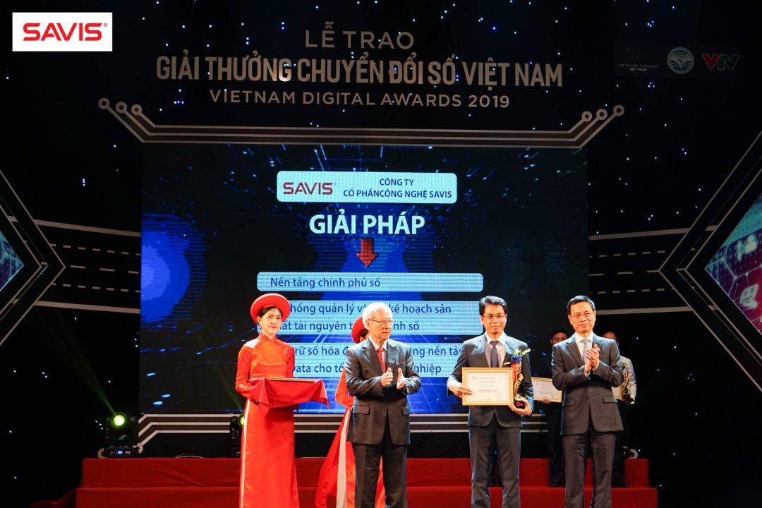SAVIS thắng lớn tại Lễ trao Giải thưởng Chuyển đổi số Việt Nam – Vietnam Digital Awards 2019