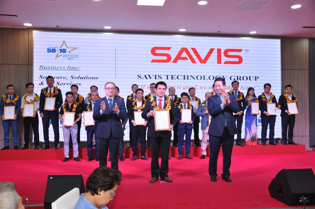 SAVIS lần thứ tư liên tiếp lọt TOP 50 Doanh nghiệp Công nghệ Thông tin hàng đầu Việt Nam