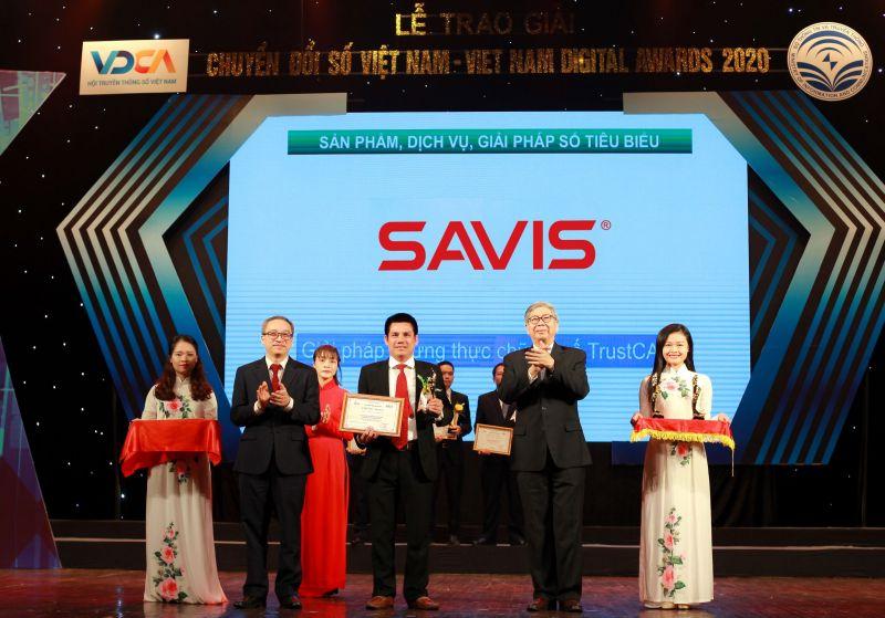 SAVIS giành liên tiếp 5 giải thưởng Chuyển đổi số Việt Nam 2020