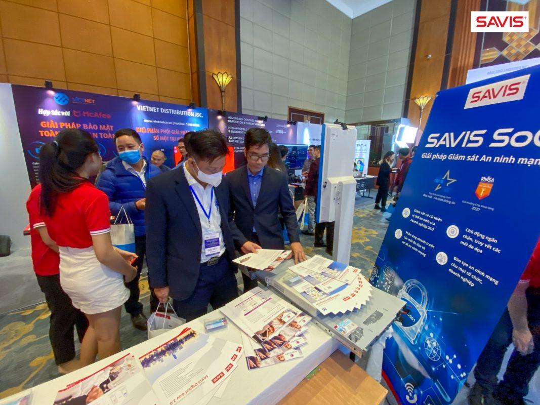 SAVIS giới thiệu hệ giải pháp an toàn, an ninh mạng tại Ngày An toàn Thông tin Việt Nam 2020