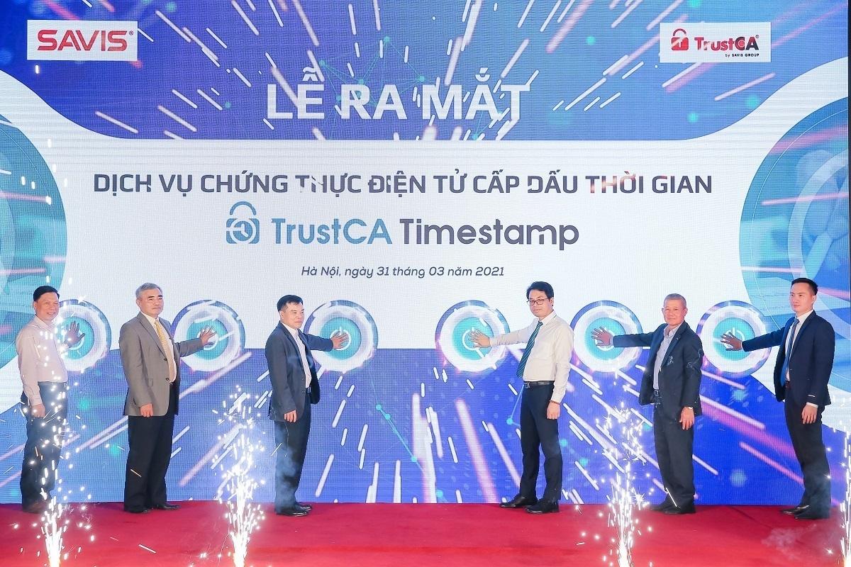 SAVIS chính thức ra mắt Dịch vụ chứng thực điện tử cấp Dấu thời gian Đầu tiên và Duy nhất tại Việt Nam – TRUSTCA TIMESTAMP