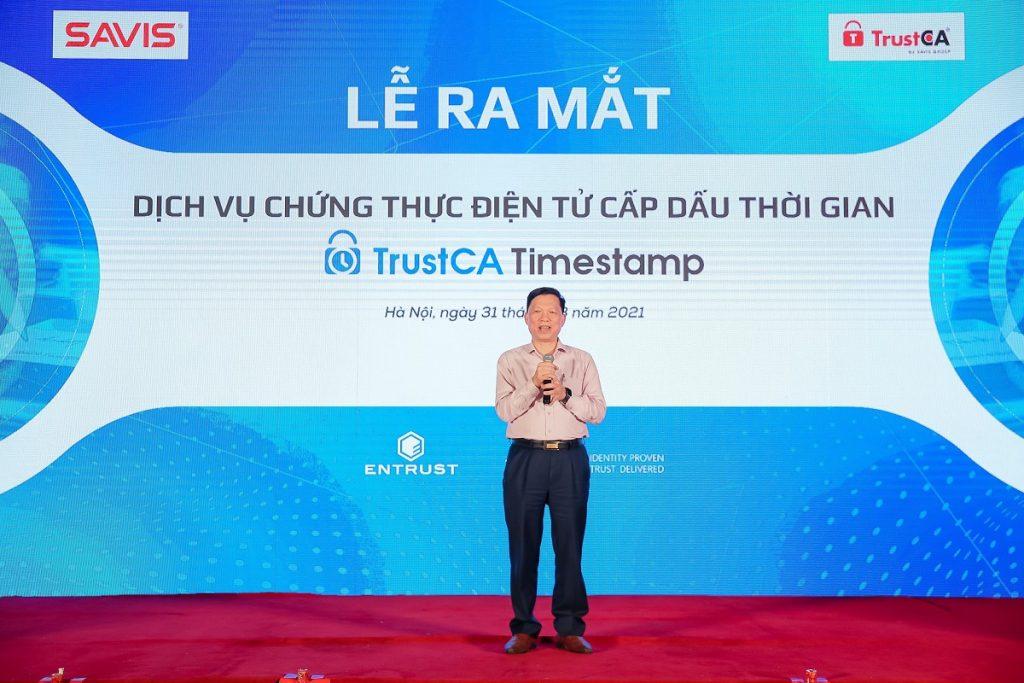 dấu thời gian SAVIS TrustCA Timestamp