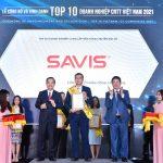 Năm thứ hai liên tiếp, SAVIS lọt TOP 10 doanh nghiệp Công nghệ thông tin hàng đầu Việt Nam